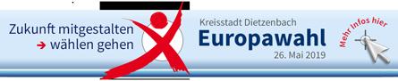 Ihr Klick zur Europawahl