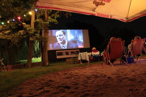 Stars im Open-Air-Kino