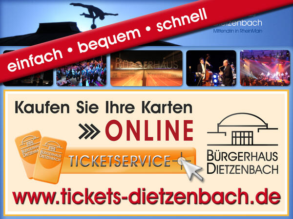 Online-Ticketservice der Stadtmarketing-Agentur