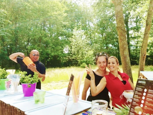 After-Work-Party im Waldschwimmbad