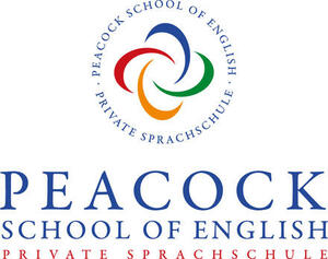 Peacock school of english Logo