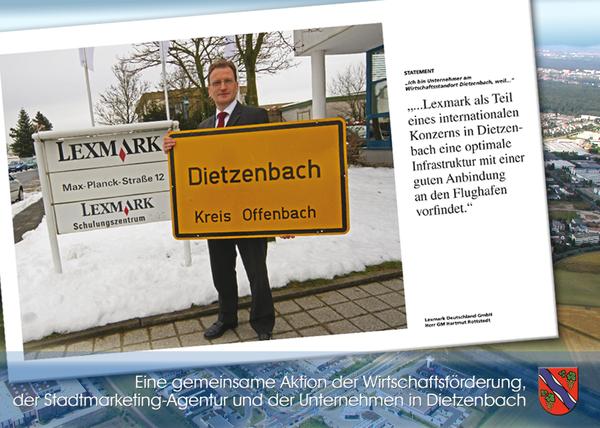 Firma Lexmark Deutschland